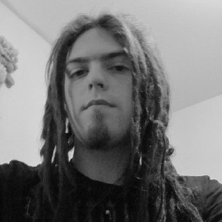 front of my dreads at 9 months