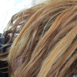You can see the back combed ones and the back part of it.