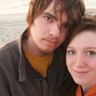 on the beach with my love