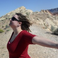 At valley of fire, where our wedding will be