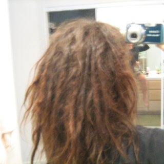 Sorry it's kind of fuzzy ... it seems that the shrinkage has stopped for now and that they're rounding out a bit ... still lots and lots of loose stuff in between, but am loving it!!!