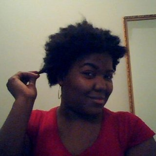my fro i named her angie