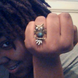 new owl ring i just wanted to share lol