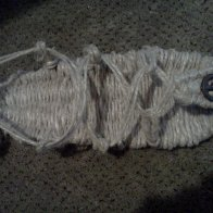 The sandal I made... Still have to finish the other one