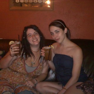 Celebrating my best friend's 21st birthday! We had quite a few long island iced teas and were having a great time! :)