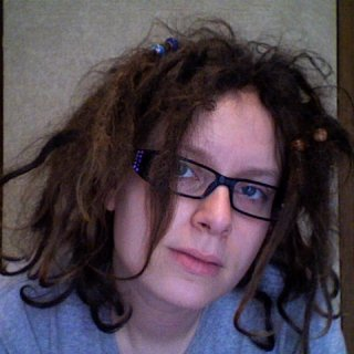 July 12, 2011 aka day 174 of my knotty hair! Just trying to look cute 20 minutes after waking up.