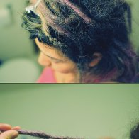 week 8-ish. dreadlock maintenance #dreadset
