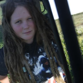 My seven year old dreads, can't believe it's been that long since I got tired of brushing my hair.