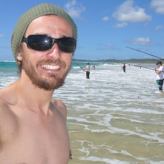 Beach pic! Killing some time whilst my friends have a fish.
