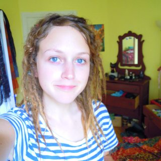two weeks with TNR. Unknown # of dreads, but they're small and numerous. :)