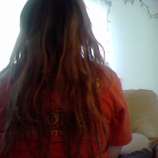 back of hair. bottom half tnr 2 months top neglect 2 weeks