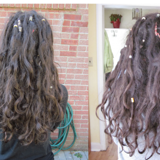 these are my tnr/natural surrendered dreadies on day 27 (left) and day 51 (right). :)