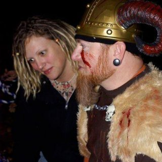 Me and my Viking Warrior :)