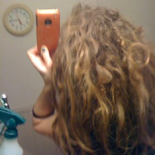26 WEEKS Crazy hair!