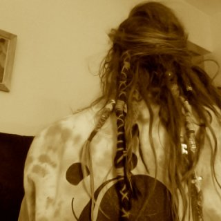 the mess that is the underside of my hair