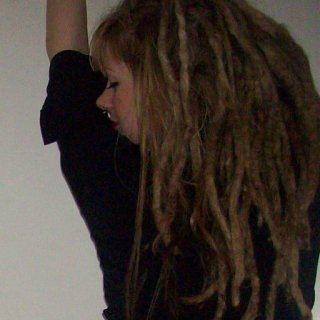 4 years old right before I combed them out..