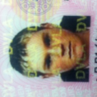 my old licence me 10 years ago