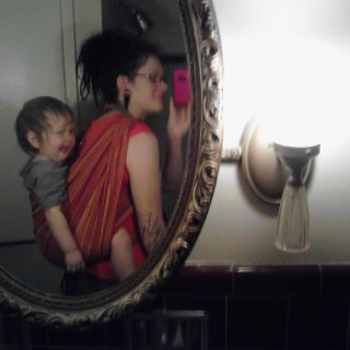 I do with a on my back! Or should I say toddler he will be 2 in about 2 weeks! I am trying out carries with our woven wrap because we will be going to the zoo hopefully for his bday. And that is 4+ hours walking around with him on my back! We have used the ergo carrier last couple times but hoping I can get a more comfortable carry with the wrap...