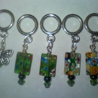 dread charms or stitch markers