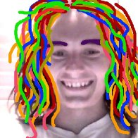 play-doh dreads