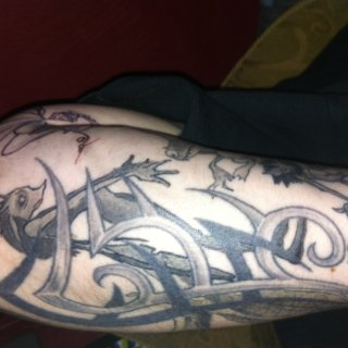 more left arm