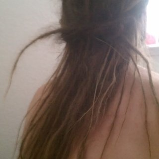 I like to tie my hair with my own hair. It seems to simple yet complicated as if so simple it'd be dumb not to. Lmao