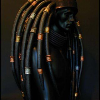 istant dreds with dred helmet lol