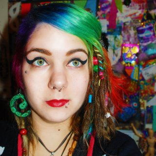 Took the felt out around April or May, this was what they were like the following January. Had a rainbow dyed in my fringe and side cut