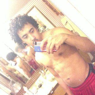 fresh out the shower baby dreads looking mop ish