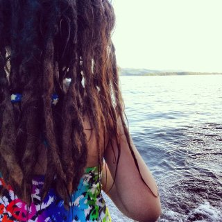 1 1/2 year dreads June 2013 Age 6