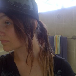 It'll be 2 weeks tomorrow, and this was taken yesterday :P So it's approximate. That day was super hot and i was outside, so i wore a hat with my dreads tied up.