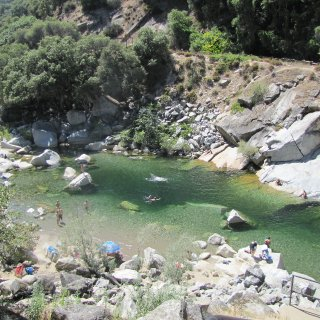 the absolute best swimming spot! The water is so clear and deep :)