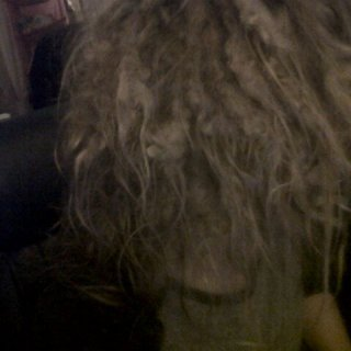 recent photo of my hair.