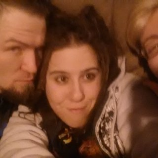 Us, Drunken and Having Fun. My Old Man, Me and My Best Friend.