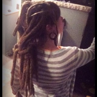 Natural dreadlocks 3.5 yrs old