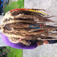 Dread pics as of 5 mos! Just a couple weeks ago