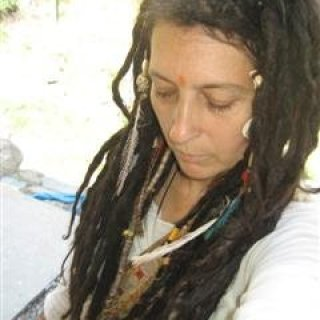 began my dreads in the himalayas