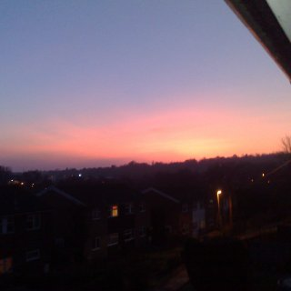 sunset over sussex jan 10