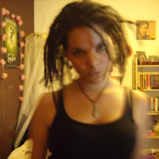 These are my dreads a day old.