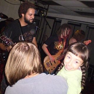 Even children like our thrash metal lol