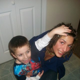 me and my nephew (FAVORITE PERSON EVER IN THE WHOLE WORLD) Sebastian