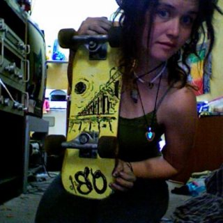 my old skateboard