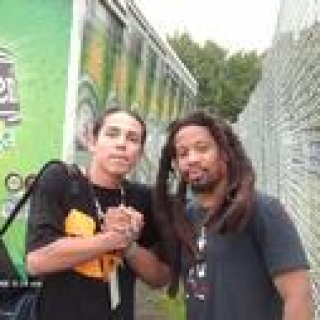 me and Mr. lif at rock the bells, new york