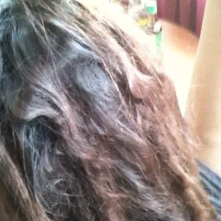 This is the first time I actually got a look at the back of my head... O.O ... No wonder my mom doesn't like em.... lol!!