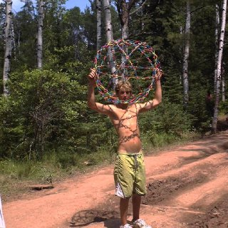 just some scenes from michigan rainbow gathering