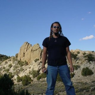 me...and some rock