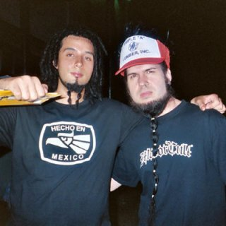 Back in 06' I believe with the vocalist of Industrial Metal band Static-X