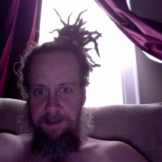 bam bam style dreads -- so hot in north carolina-- can't wait to move to Oregon