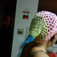a hat i made