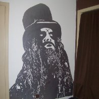 Second Rob Zombie mural done for a friend.